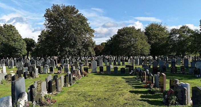 Um cemitério (imagem do arquivo)