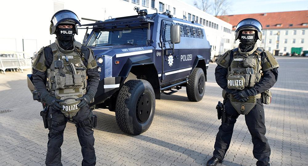Policiais de Hamburgo, Alemanha