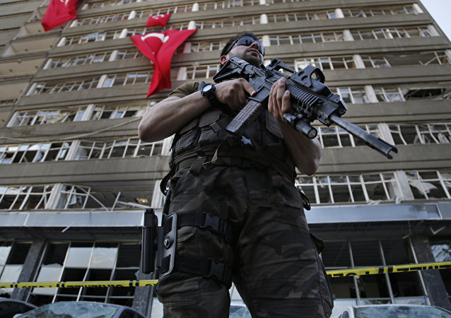 Turkish special forces policeman. (File)