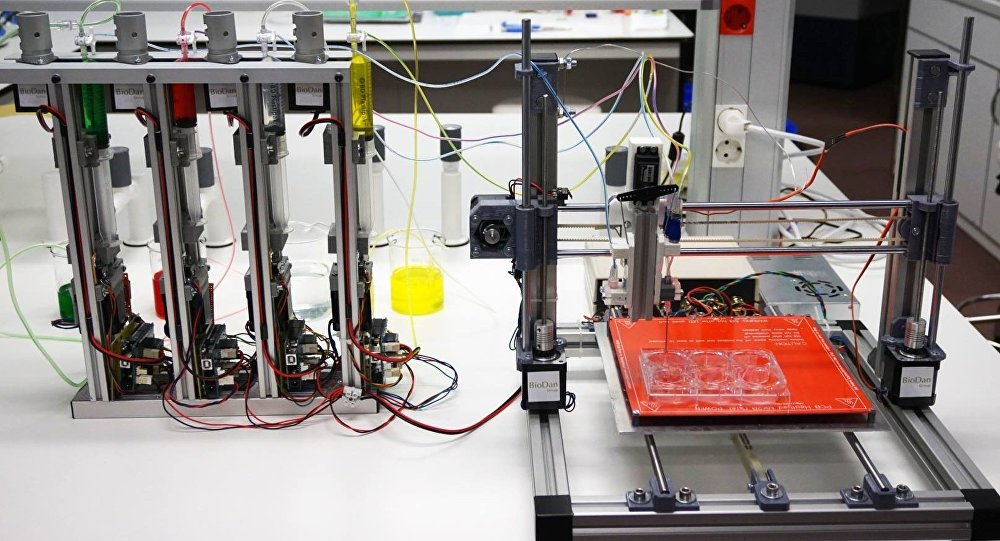 Protótipo de uma impressora 3D