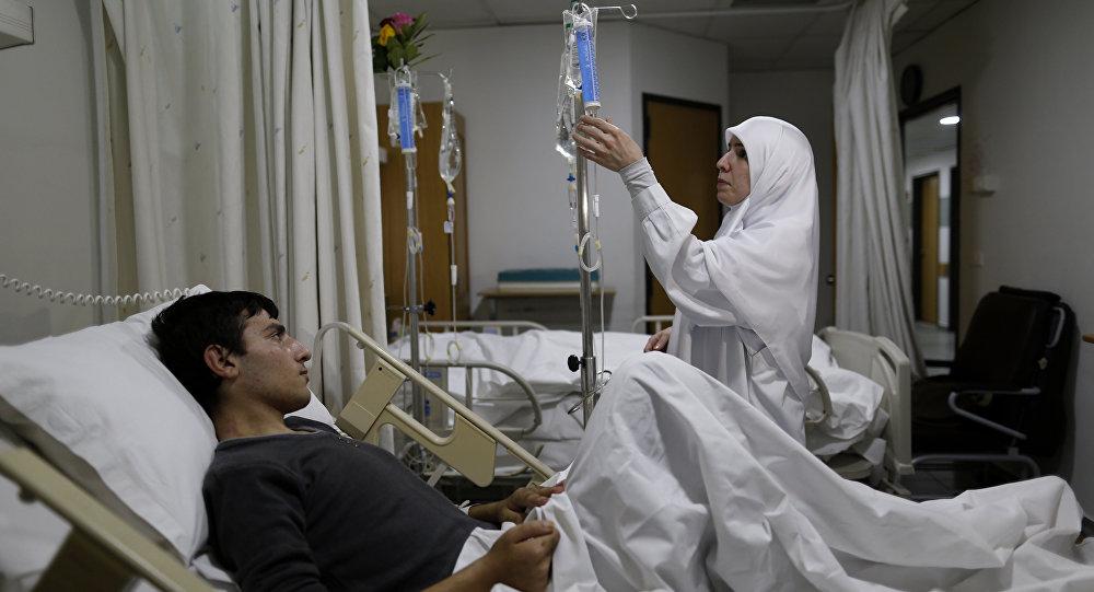Médicos na Síria, foto de arquivo