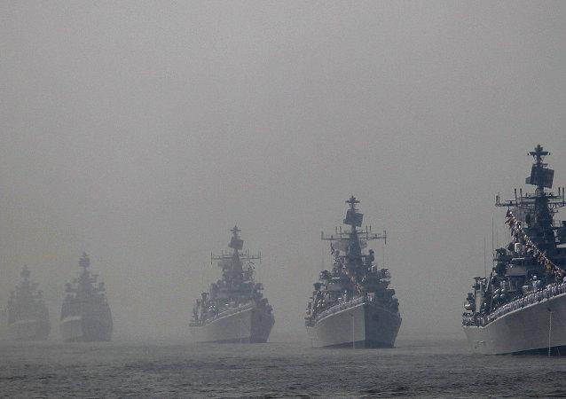 Navios da Marinha da Índia