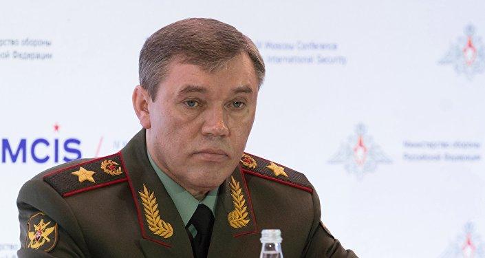 General Valery Gerasimov, comandante do Estado-Maior das Forças Armadas da Rússia.