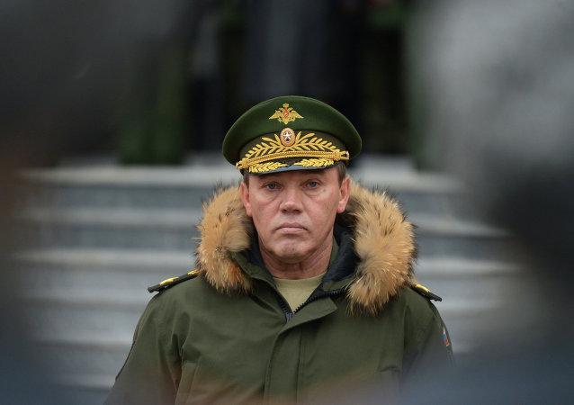 General Valery Gerasimov, comandante do Estado-Maior das Forças Armadas Russas