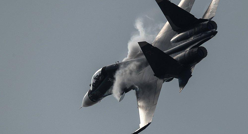 Su-30SM no MAKS 2015