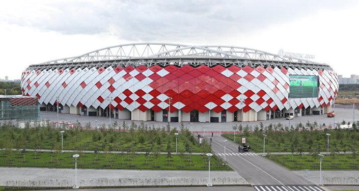Fachada da arena Spartak, Moscou