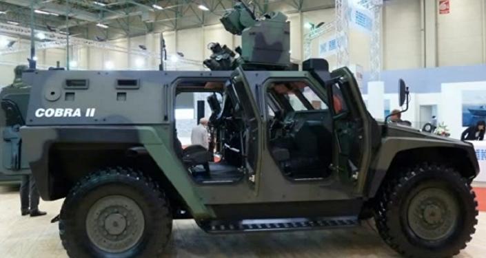 Veículo blindado turco Cobra II