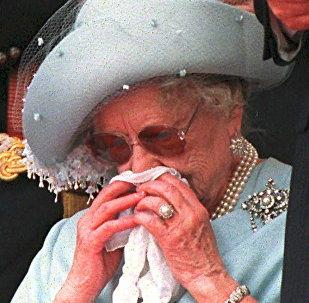 Elizabeth II começou a chorar durante a cerimônia em homenagem aos soldados mortos do Regimento Duque de Lancaster