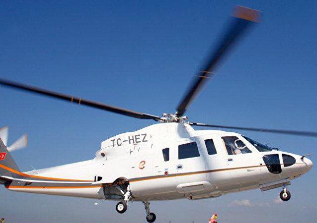 Helicóptero Sikorsky S-76 TC-HEZ
