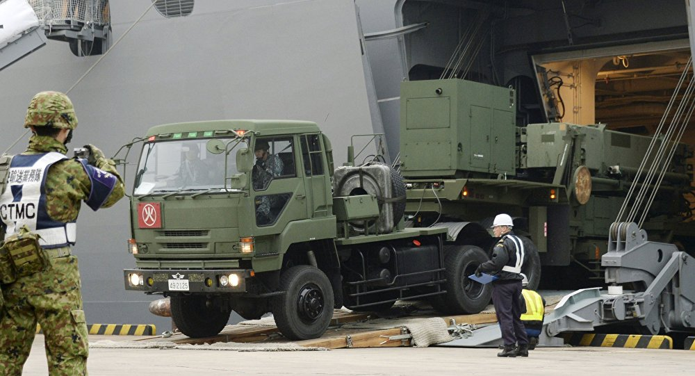 Sistema de mísseis interceptores PAC-3 no Japão