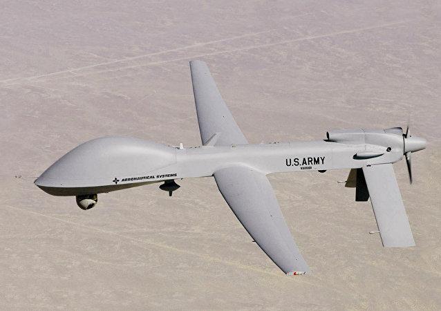 Drone MQ-1C Warrior UAV das Forças Aéreas dos EUA