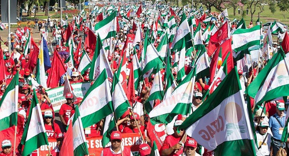 Manifestações contra o governo em 22 capitais