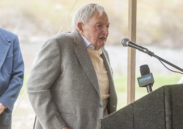 David Rockefeller (foto de arquivo)