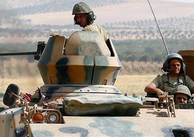 Tanque T-62 do exército da Síria