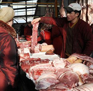 Mercado de carnes na Rússia