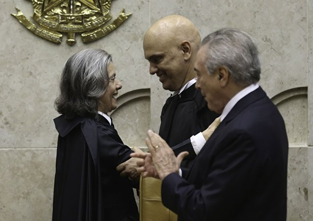 Posse de Alexandre de Moraes no Supremo Tribunal Federal