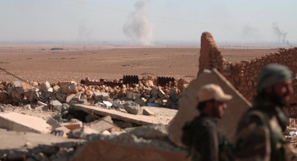 Forças Democráticas da Síria em Raqqa
