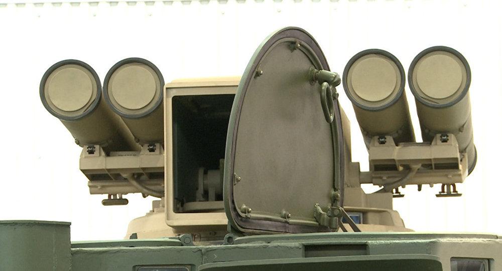 Complexo de lançamento de mísseis antitanque Kornet-EM
