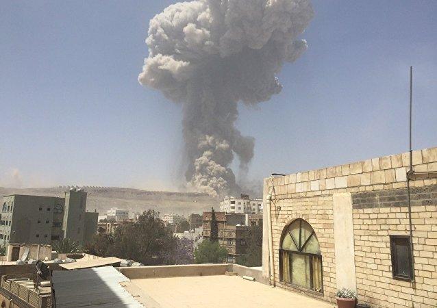 Bombardeios da coalizão no Iêmen