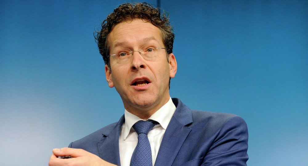 O presidente do Eurogrupo, Jeroen Dijsselbloem