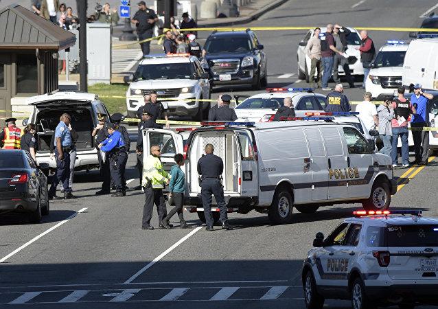 Incidente na Colina Colina do Capitólio, Washington, EUA, 29 de março de 2017