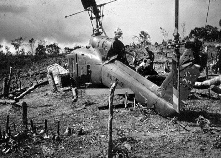 Helicóptero dos EUA abatido