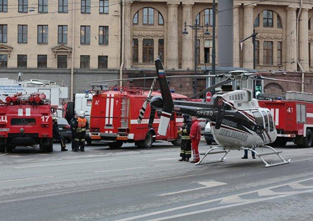 Corpo de Bombeiros do Ministério para Situações de Emergência da Rússia (arquivo)