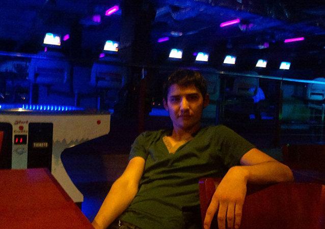 Akbarzhon Dzhalilov, autor do atentado no metrô de São Petersburgo em 3 de abril de 2017, foto das redes sociais