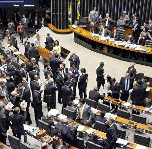 Votação no Plenário da Câmara da regulamentação dos serviços de transportes por aplicativos