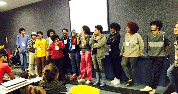 Integrantes do coletivo Ocupação Preta invadem as salas de aula para denunciar o racismo na USP