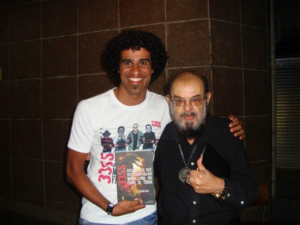 Gerson Couto e José Mojica, o pai do terror no cinema brasileiro
