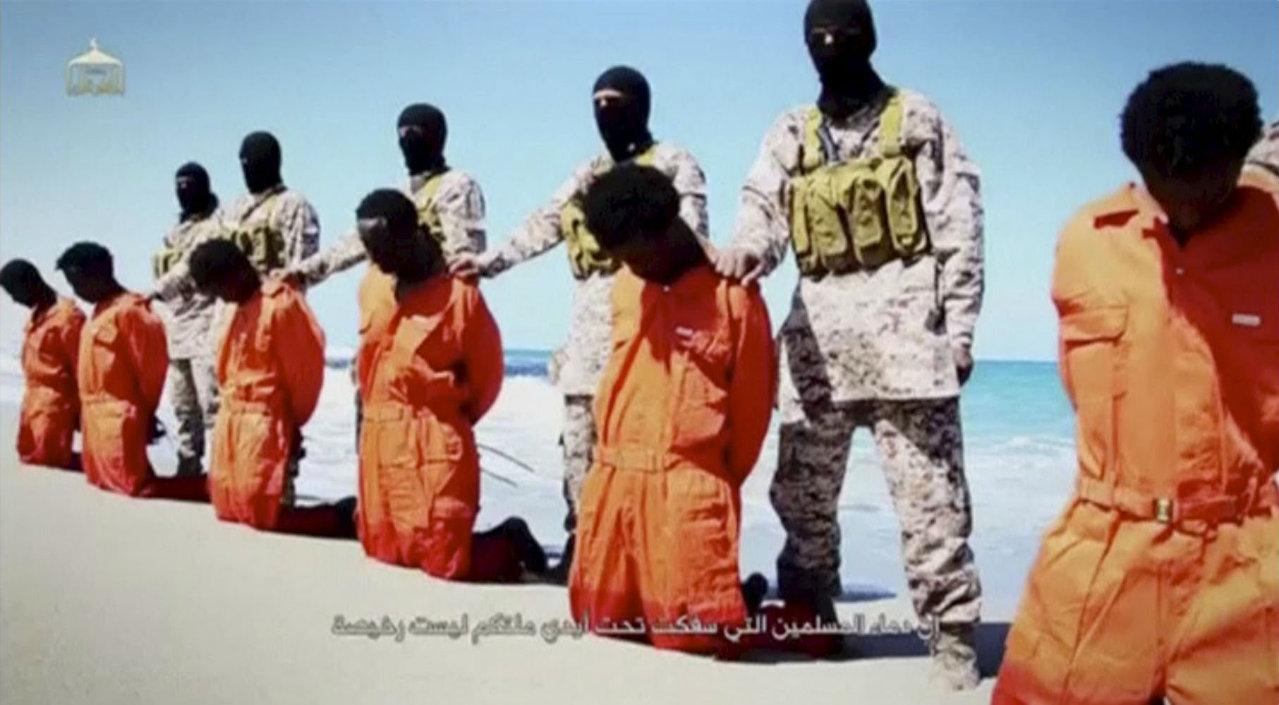 Execução de cristãos etíopes pelo Estado Islâmico.