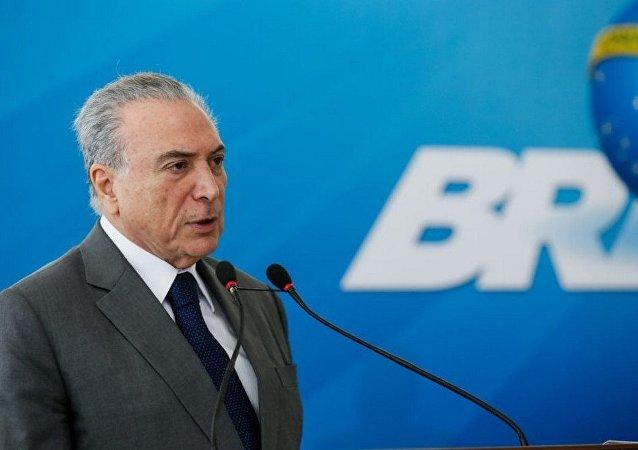 Nota do Paládio do Planalto afirma que o presidente Michel Temer jamais tratou de valores com Márcio Faria