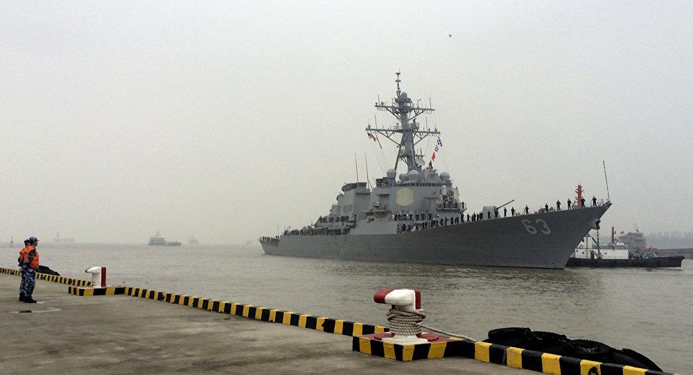 Contratorpedeiro norte-americano USS Stethem (arquivo)