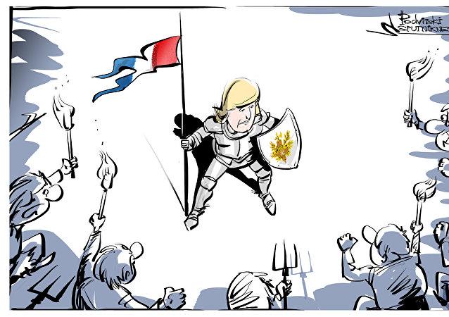 Joana d'Arc dos nossos tempos