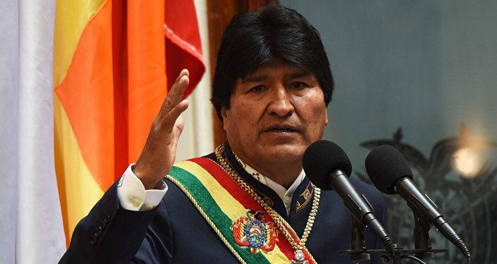 Presidente boliviano, Evo Morales