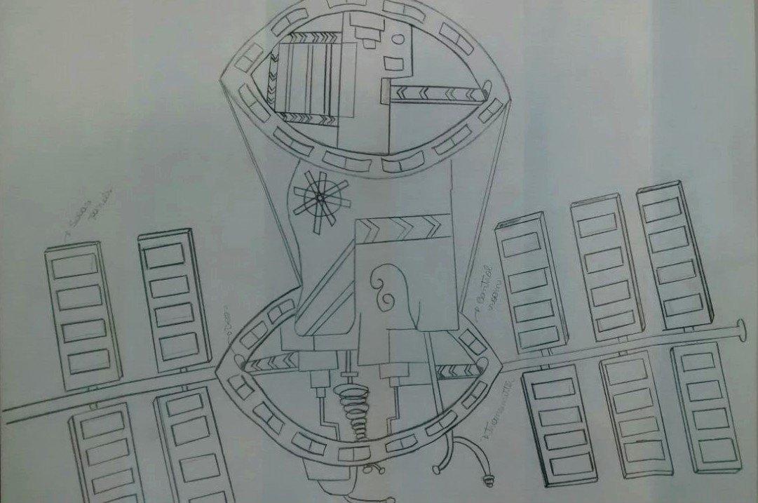A estação espacial futurista de Isabela premiada pela Nasa