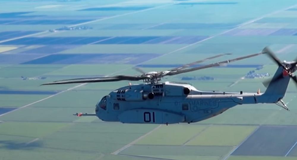Helicóptero norte-americano CH-53 King Stallion