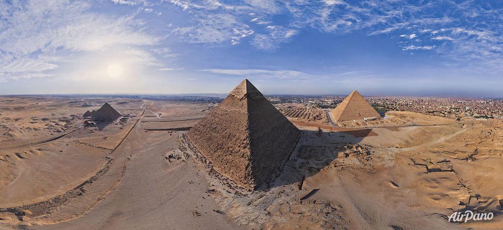 Pirâmides de Gizé, arredores do Cairo, Egito
