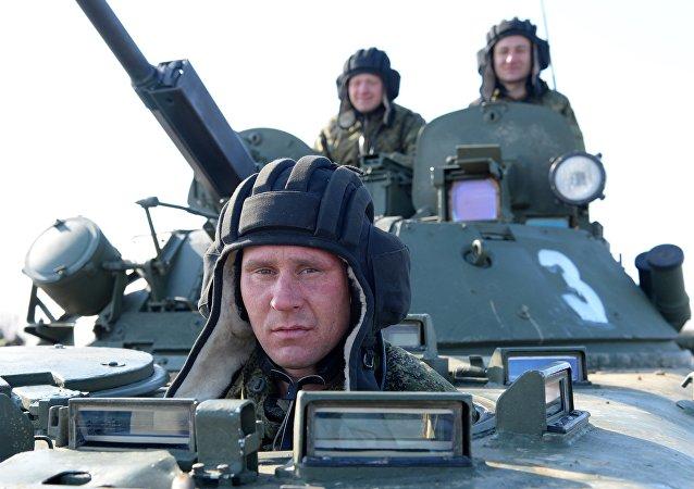 Biatlo de tanques 2017 em Khabarovsk. Corridas individuais de veículos de combate de infantaria