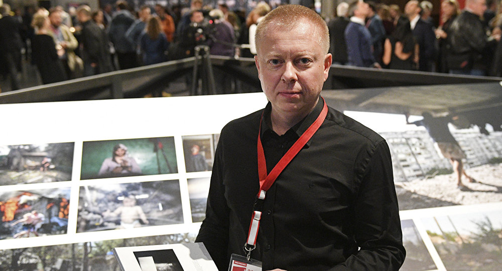 O laureado russo do concurso internacional World Press Photo 2017, Valery Melnikov