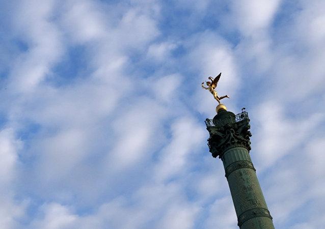 Praça da Bastilha em Paris