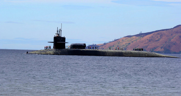 Submarino nuclear norte-americano USS Michigan