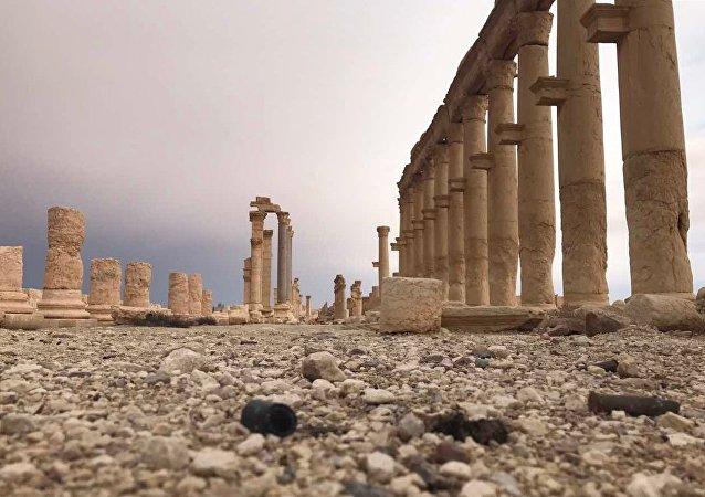 Palmira volta a ser controlada pelas tropas governamentais sírias, em 2 de março de 2017