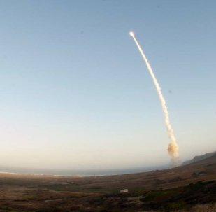 Lançamento de míssil balístico Minuteman III
