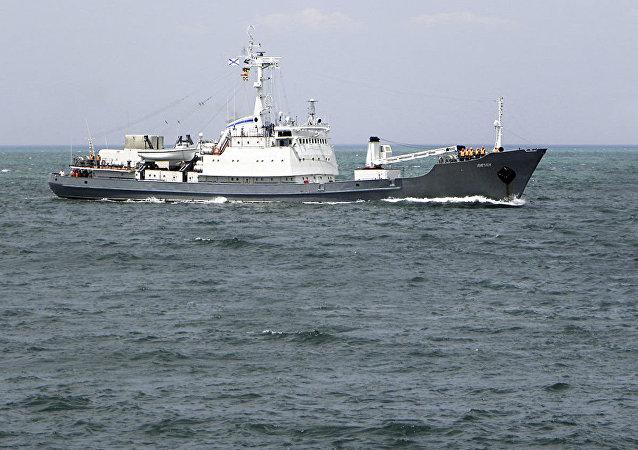 O navio Liman