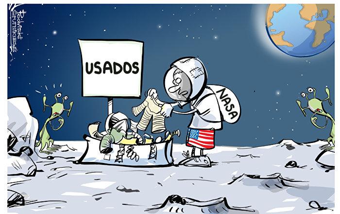 Quando seu programa espacial não dá certo
