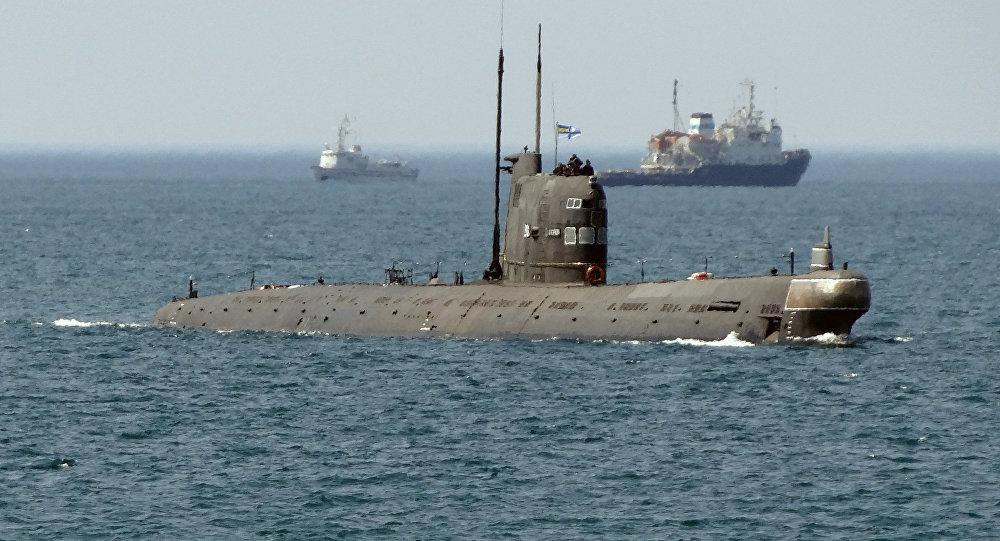 Submarino ucraniano Zaporozhie