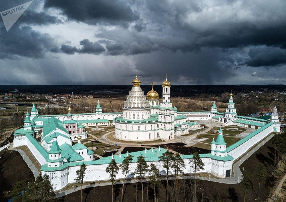 Mosteiro da Ressurreição de Novo Jerusalém, um mosteiro ortodoxo russo localizado na região de Moscou