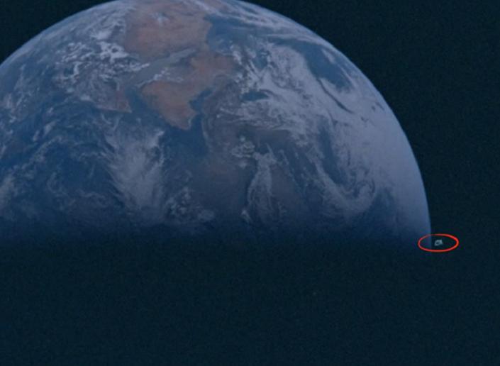 Foto da missão espacial Apollo 10